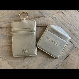 ID keychain, and change/jewelry pouch